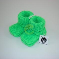 Bačkůrky neon zelená