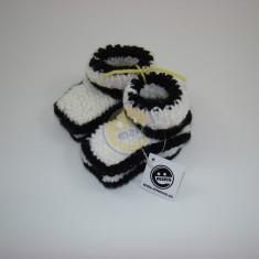 Bačkůrky bílé s černou