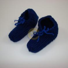 Papuče pro chlapce tm. modré