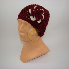 Emaxxs puff stitch rubínová