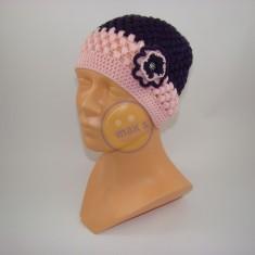 Emaxxs puff stitch dětská fialovorůžová