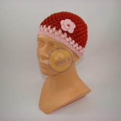 Emaxxs puff stitch dětská hnědorůžová