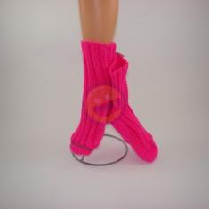 Ponožky dámské neon růžové