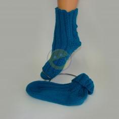 Ponožky dámské zelené
