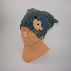 Čepice dětská bubu s kytičkou