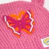 Čepice dětská bubu s motýlkem